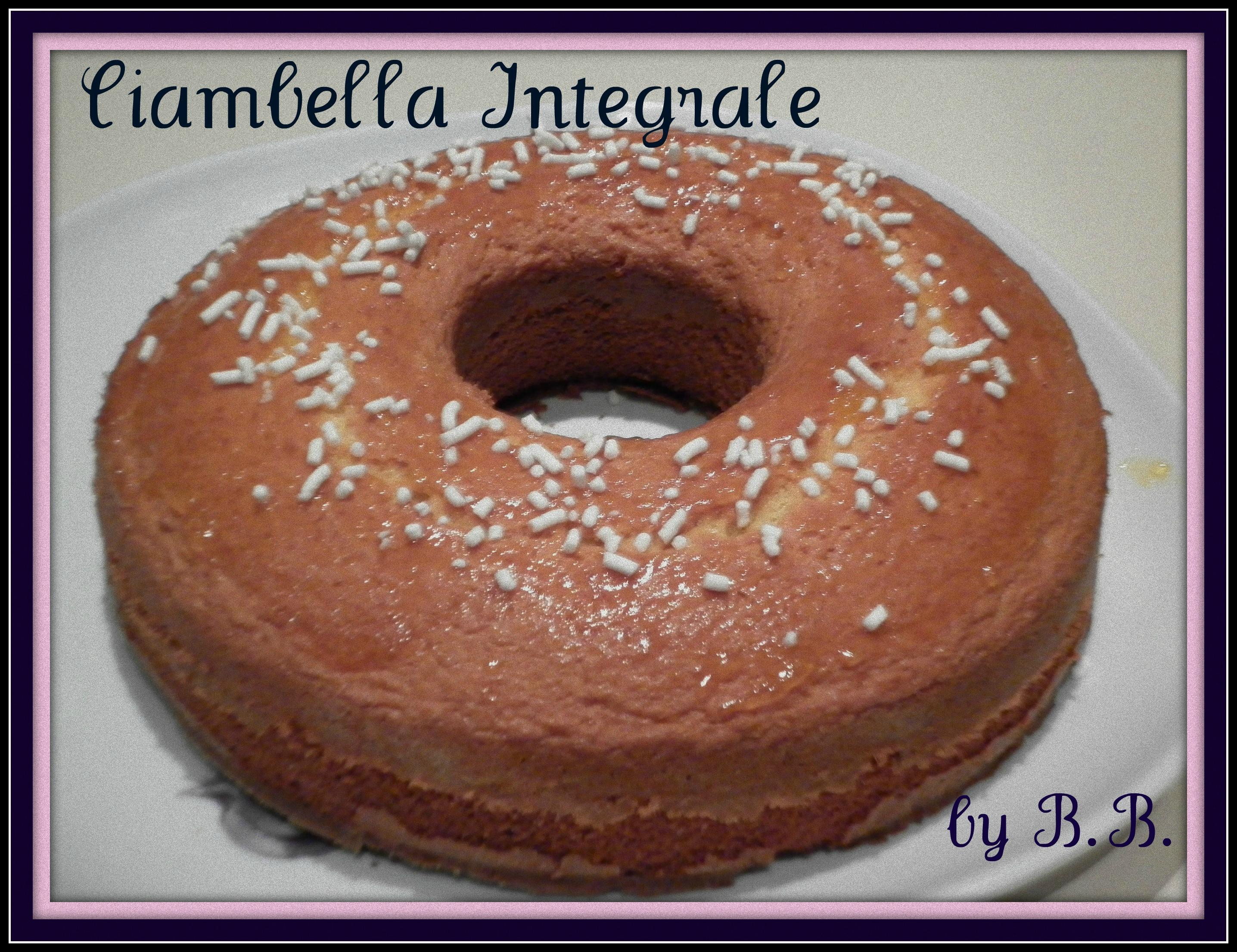 7.ciambella integrale